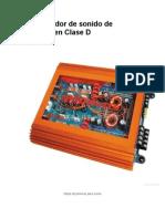 Amplificador de Sonido de Potencia en Clase D