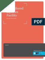 BT Tailored Equities Facility, Information Memorandum