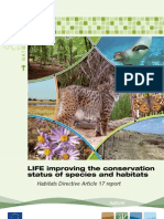 LIFE improving the conservation status of species and habitats