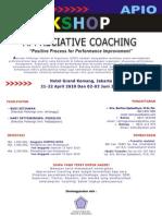 Workshop Appreciative Coaching