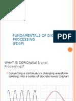 DIGITAL SIGNAL PROCESSING - BASIC MATERIALS