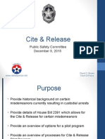 DPD Cite-and-Release
