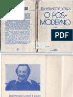 Lyotard Jean-Francois O Pos-moderno 3a Ed