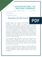Paquetes de  Microsoft Office