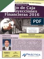 Seminario Taller Flujo de Caja y Proyecciones Financieras 2016