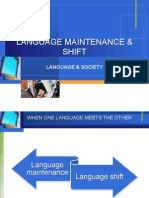 SocioLing_language Maintenance and Shift