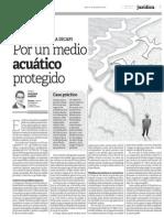 Fiscalización ambiental a cargo de la Dicapi. Por un medio acuático protegido