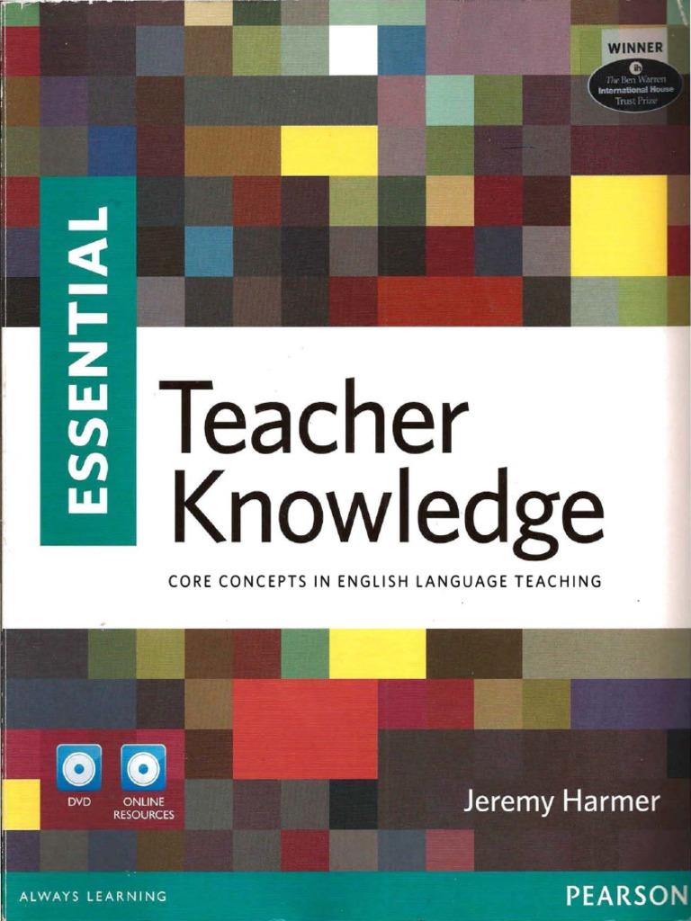 essential teacher knowledge jeremy harmer pdf free download