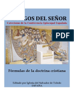 CATECISMO TESTIGOS DEL SEÑOR. FÓRMULAS DE FE
