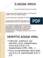 Hepatitis Aguda Virica