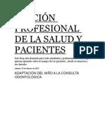 Dinamica Profesional de La Salud y Pacientes