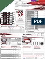 Character Sheet v4.8 (A4)