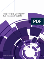 The Mobile Economy - Sub-Sahara Africa