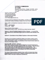Pendleton ethics complaint