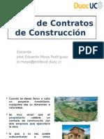 Tipos de Contratos de Construcción