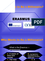 Millionaire Erasmus + PPT