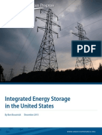 Integrated Energy Storage in the United States