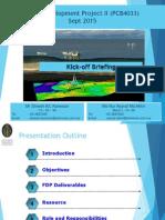1 FDP II Kickoff Briefing File