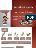 Musical Instruments Lesson