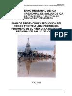 Plan Regional Frente Al Niño 2015.. Diresa Ica 3