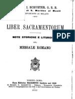 09. Liber Sacramentorum, Dalla Dedicazione Di s. Michele All'Avvento