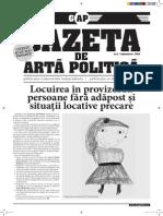 Gazeta de Artă Politică nr. 11
