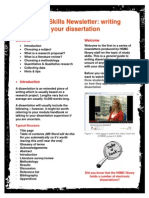 Writing Your Dissertation