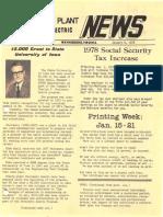 GE Waynesboro Plant News (1978)