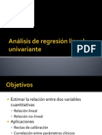 Regresion Lineal Univariante