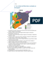 Apuntes Video Sobre Siria, Con Mapas