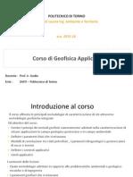 1 - Introduzione Corso 2015