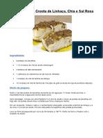 Receita-Bacalhau Com Crosta de Linhaça Chia e Sal Rosa