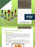 Marketing Multinivel Mitos y Realidades