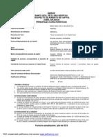 Prospecto Acciones Banco Azul de El Salvador S.a. de C.V.