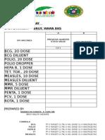 Epi Vaccine Order Form
