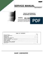 Sharp Es-m55ap service manual