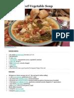 Portuguese Beef Soup