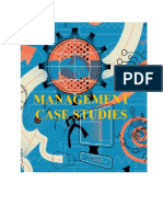 Management Case Studies
