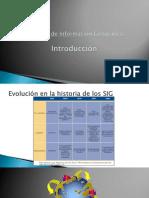 Sistemas de Información Geográfica - TEORÍA