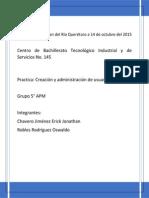 Creación de Usuarios y Grupos, Administración de Directivas de Grupos en Windows 2008 Server