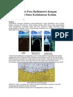 Peta Bathimetri Dengan ArcGIS