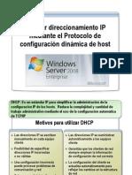 Asignar Direccionamiento IP Mediante DHCP [Windows Server 2008]