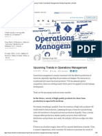 Upcoming Trends in Operations Management _ Pardeep Singh Attri _ LinkedIn