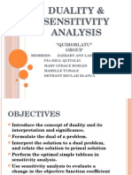 Chapter 4-Duality & Sensitivity Analysis
