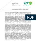 Analisis de La Pelicula Jonh¿y Lingo