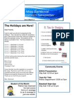 classroomnewsletter doc