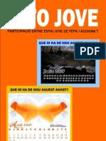INFO-JOVE 5 - JULIOL-AGOST 2009 - ACCIONA'T - PLATAFORMA EDUCATIVA