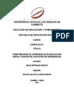 Monografia de Curriculo II