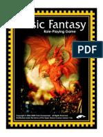 Basic Fantasy RPG Rules 2ndEd Cover