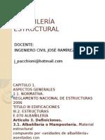 ALBAÑILERÍA ESTRUCTURAL 01